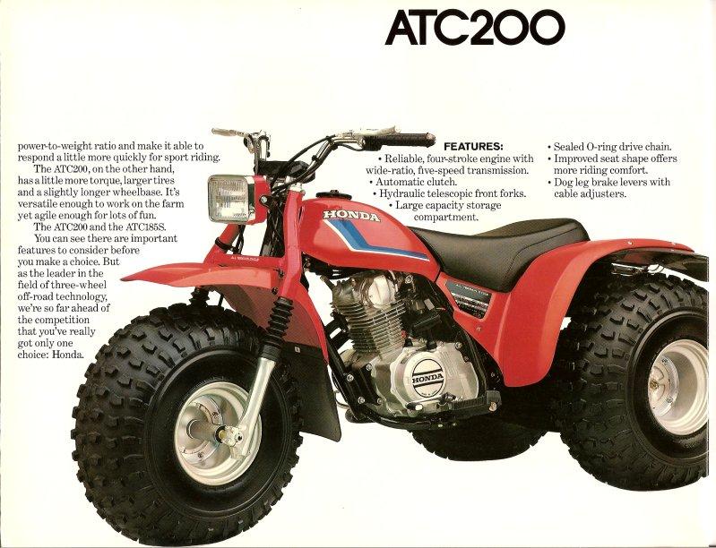 100 Honda Atc 185 Yasminroohi