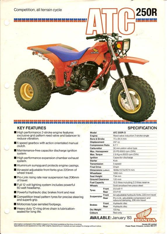 Honda Atc 200x Specs 1985 Honda Atc 200x When Atcs Ruled The Track Dirt Wheels Magazine Honda