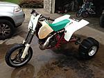 ktm 550 two stroke 3 wheeler