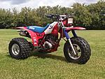 1985 Honda atc 200X (auto-X) build