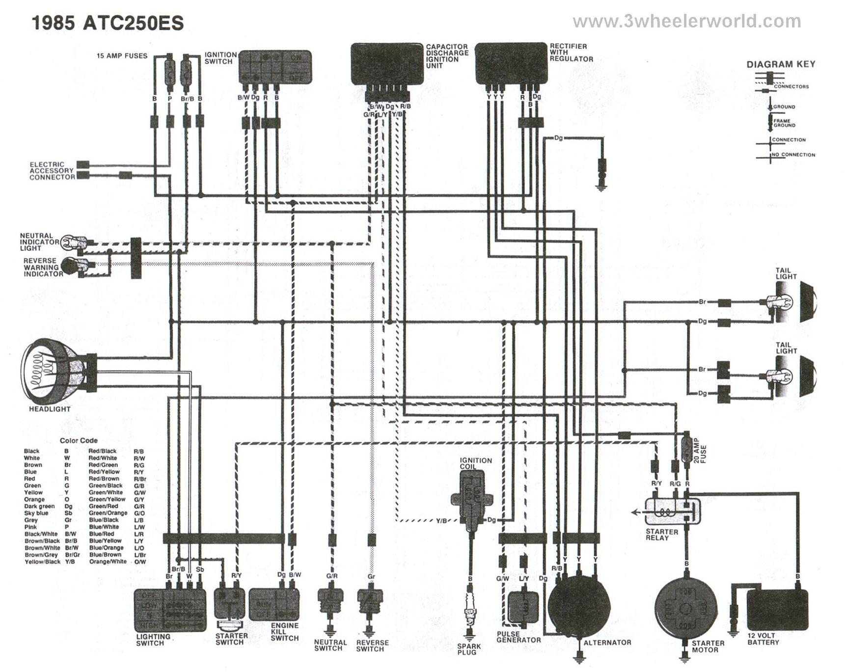 yamaha bear tracker 250 wiring diagram yamaha wiring diagram for yamaha 250 4 wheeler wiring auto wiring on yamaha bear tracker 250 wiring