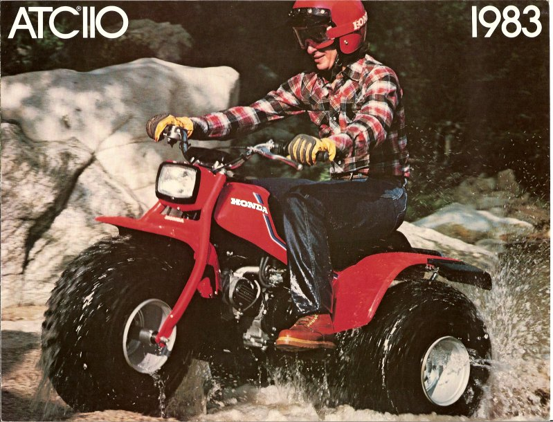 the us90 and atc90 proved to be a pivote point for honda's line up of all  terrain cycles  with other manufacturers trying to get a slice of the pie  the