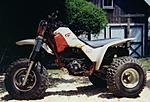 My 1986 Honda ATC 350X before I changed the tank for a Clarke