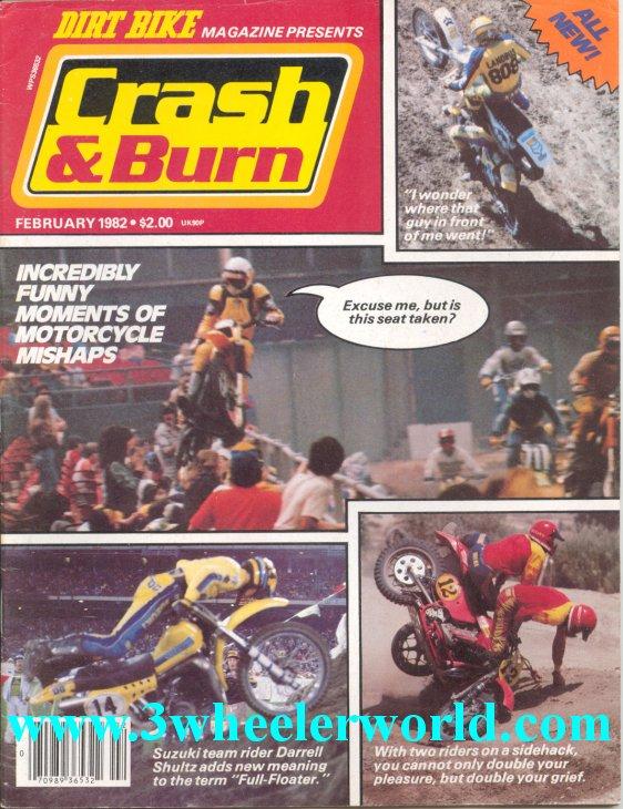 3 Wheeler World Crash Amp Burn Magazines