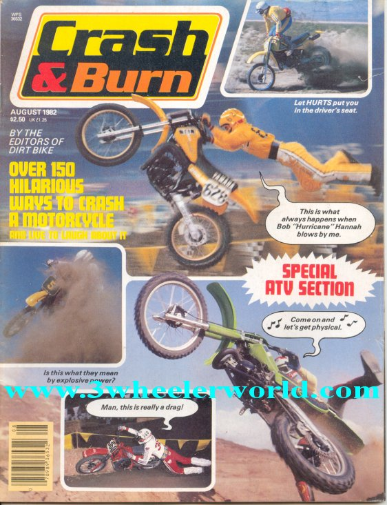 3 Wheeler World Crash Amp Burn Magazines