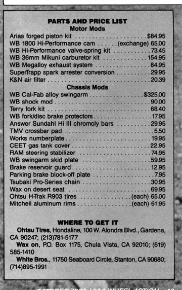 3 Wheeler World Presents  86 Atc350x Mods