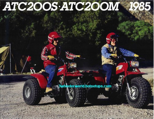 1985 Honda 200s Three Wheeler http://www.3wheelerworld.com/oldsite/zHonda1985ads1.shtml