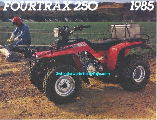 1985 TRX250 Part 1 1985 TRX250 Part 2