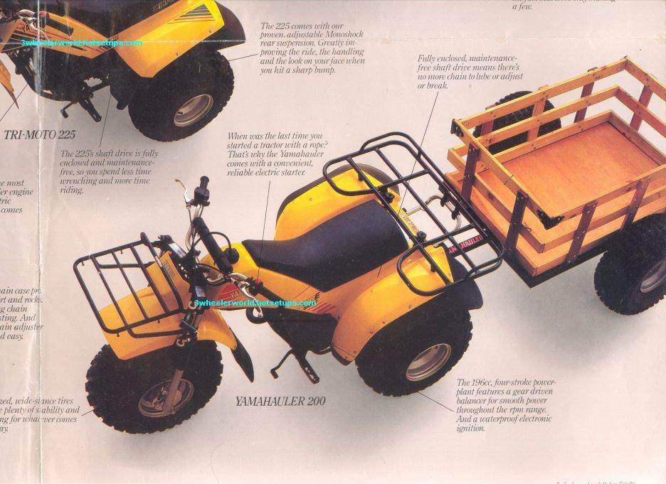 Yamaha Trimoto  Parts