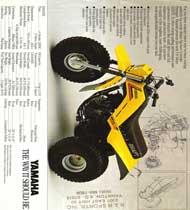 3 wheeler world 1985 yamaha 225dx