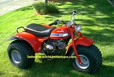 Honda 110 ATV