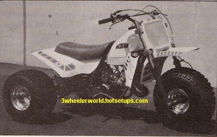 three wheeler world's ktm picture page #1