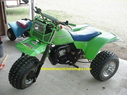 THRee WHeeLeR WoRLD's Kawasaki Tecate Picture Page #3