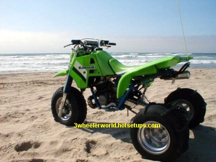 THRee WHeeLeR WoRLD's Kawasaki Tecate Picture Page #4
