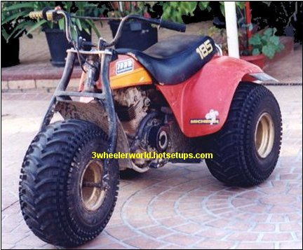 Suzuki Four Wheelers >> THRee WHeeLeR WoRLD's Suzuki ALT 185 Picture Page #1