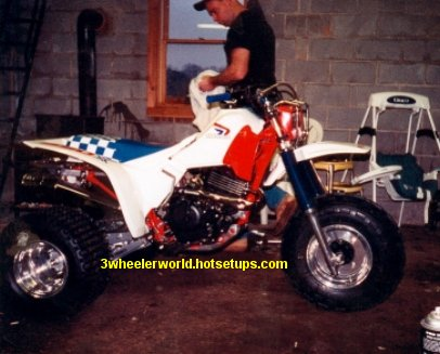 Honda ATC 350x Picture Page #4. Click on the pictures for a bigger view.