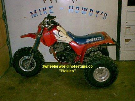 Honda 350x Atc. Honda ATC 350x Picture Page #5